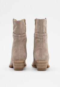 Tamaris - BOOTS - Cowboy/biker ankle boot - taupe - 3