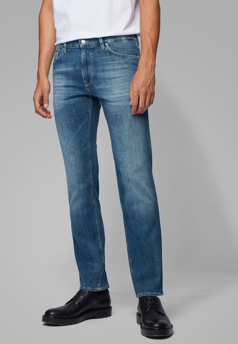 BOSS - MAINE - Straight leg jeans - blue