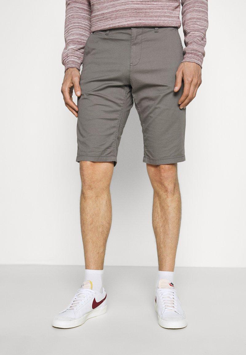 TOM TAILOR - JOSH  - Shorts - castlerock grey