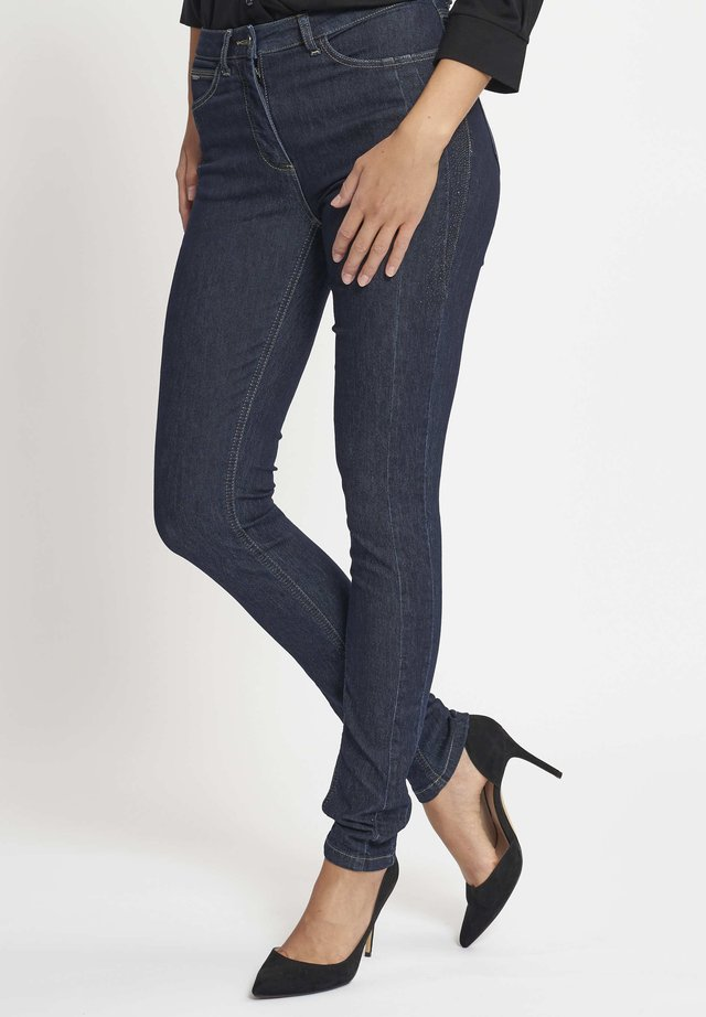 LAURA - Slim fit jeans - blue