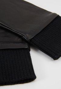 Calvin Klein Jeans - CUFF GLOVES - Gloves - black - 3