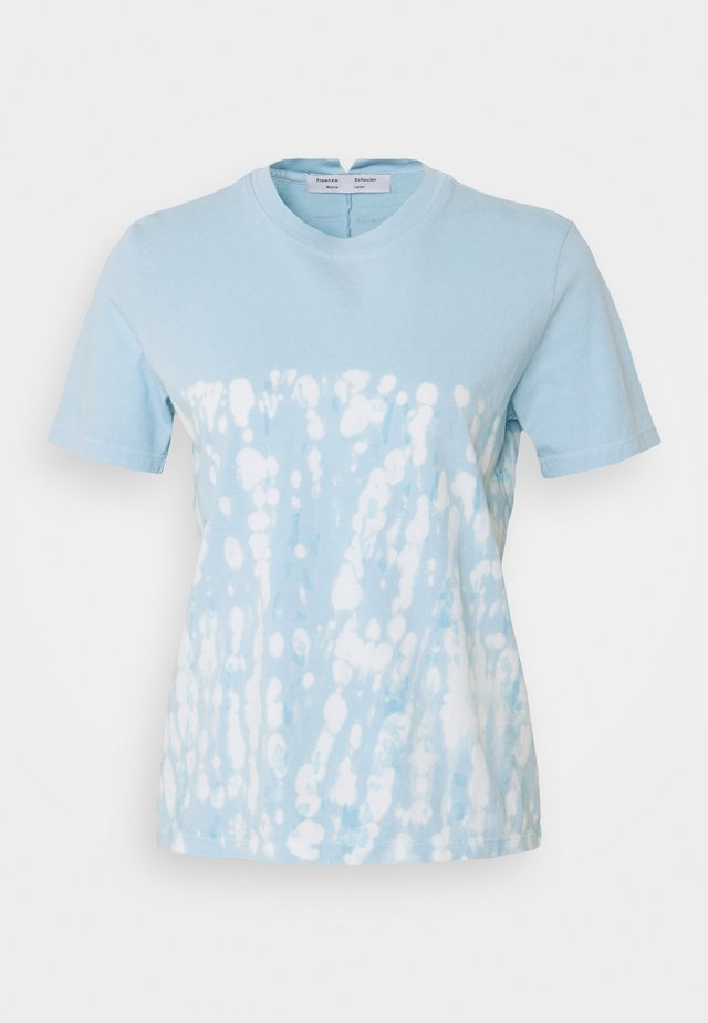 TIE DYE CLASSIC TEE - T-shirt con stampa - blue perl