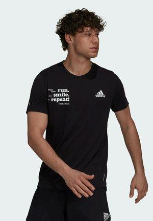 SIG M - T-shirt con stampa - black