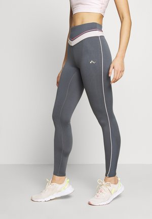 ONPJEWEL MESH TRAINING - Leggings - turbulence