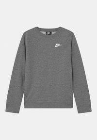 Nike Sportswear - CREW CLUB - Sweatshirt - carbon heather/white - 0