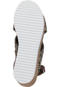 Piazza - Wedge sandals - black - 3