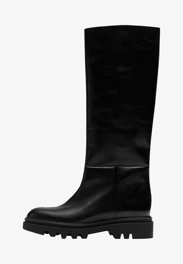 Massimo Dutti - MIT SUPER-PROFILSOHLE - Boots - black