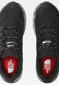 The North Face - W VECTIV EXPLORIS FUTURELIGHT - Hiking shoes - tnf black meld grey - 3