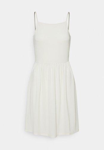 VMILANE SINGLET SHORT DRESS - Jerseykjole - birch