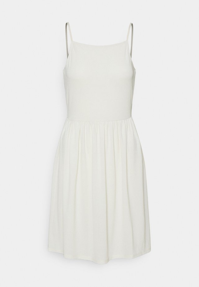 VMILANE SINGLET SHORT DRESS - Sukienka z dżerseju - birch