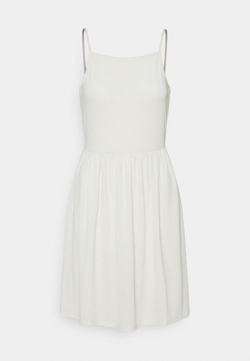 Vero Moda - VMILANE SINGLET SHORT DRESS - Jersey dress - birch