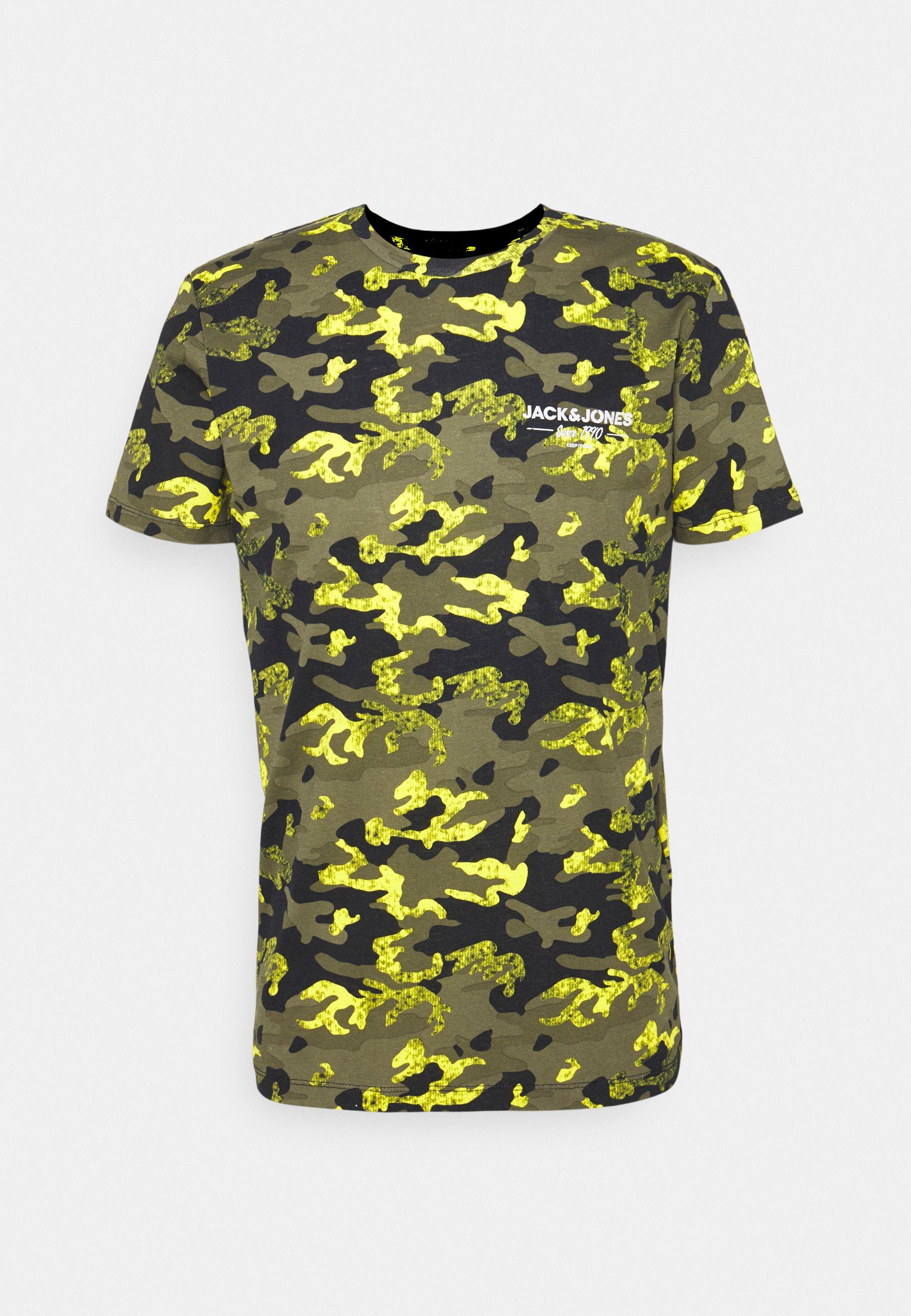Men JJSOLDIER TEE CREW NECK - Print T-shirt