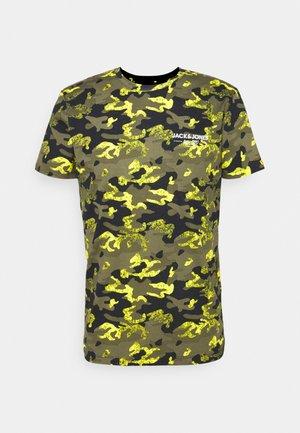 JJSOLDIER TEE CREW NECK - Print T-shirt - black