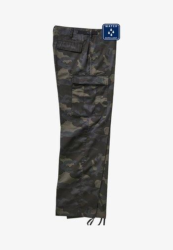 Cargo trousers - darkcamo