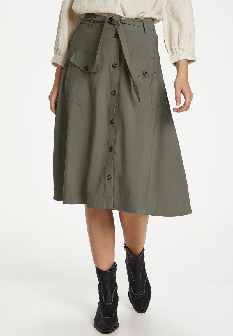 Saint Tropez - A-line skirt - musk