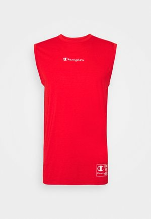 LEGACY TRAINING CREWNECK SLEEVELESS - Camiseta de deporte - red