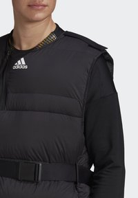 adidas Performance - URBAN COLD RDY OUTDOOR VEST - Waistcoat - schwarz - 7