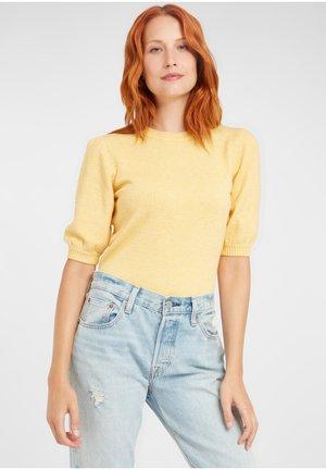 NONINA - Sweater - mel. cornsilk