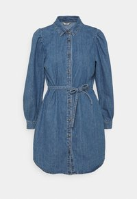 ONLROCCO LIFE DRESS - Denim dress - medium blue denim
