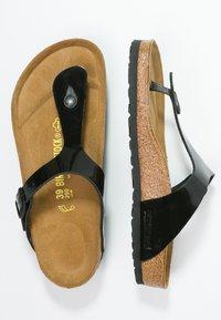 Birkenstock - GIZEH - T-bar sandals - schwarz - 3