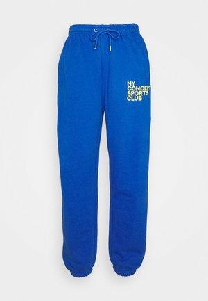 BALANCE JOGGER UNISEX - Pantaloni sportivi - blue
