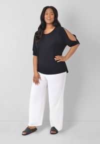Live Unlimited London - Trousers - white - 0