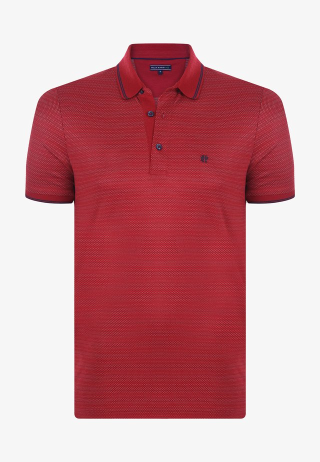 Poloshirt - bordeaux