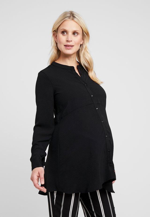 PEPLUM - Skjorta - black