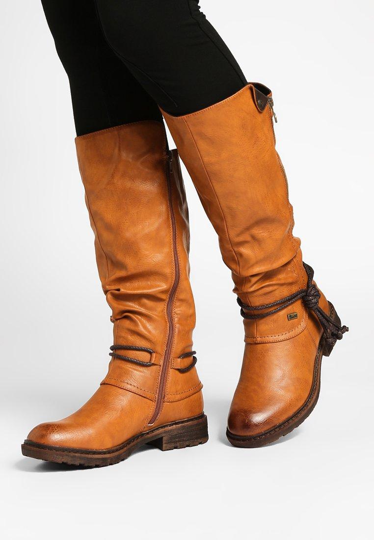 Rieker - Zimní obuv - cayenne choco