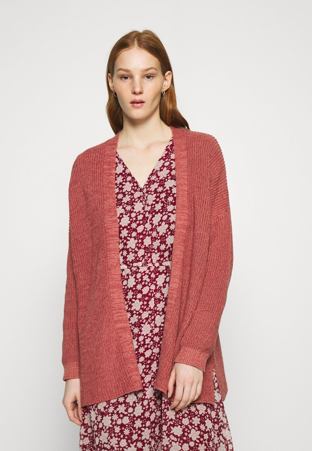 ARCHY  - Cardigan - canyon rose/marsala twist