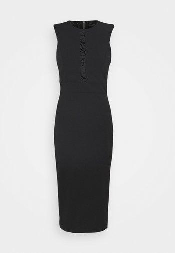 SAVANNAH MIDI DRESS - Vestido de cóctel - black
