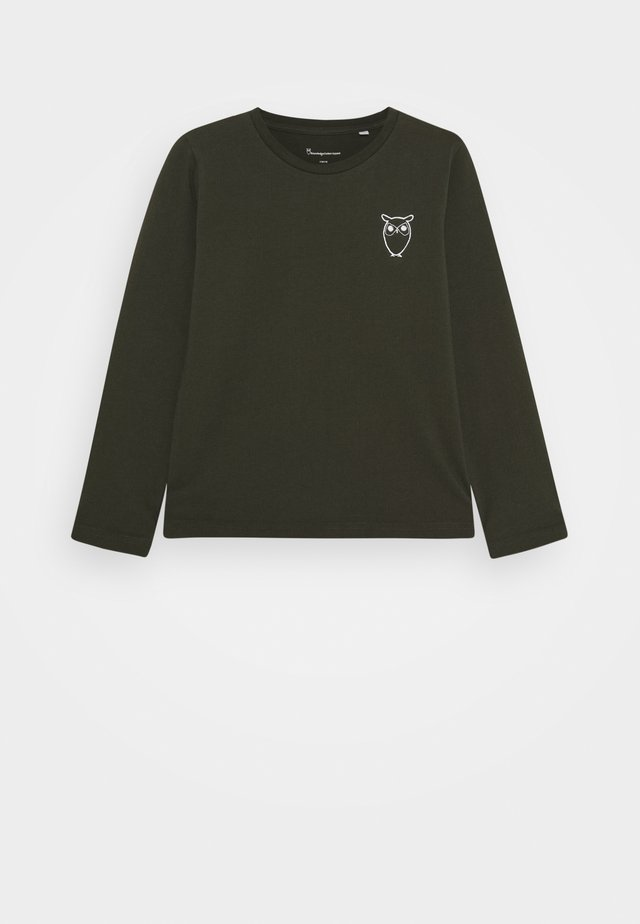 FLAX OWL - T-shirt à manches longues - olive
