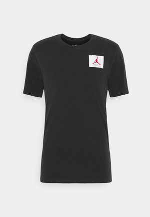 FLIGHT ESSENTIALS CREW - T-shirt med print - black