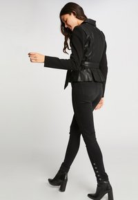 Morgan - Faux leather jacket - black - 2