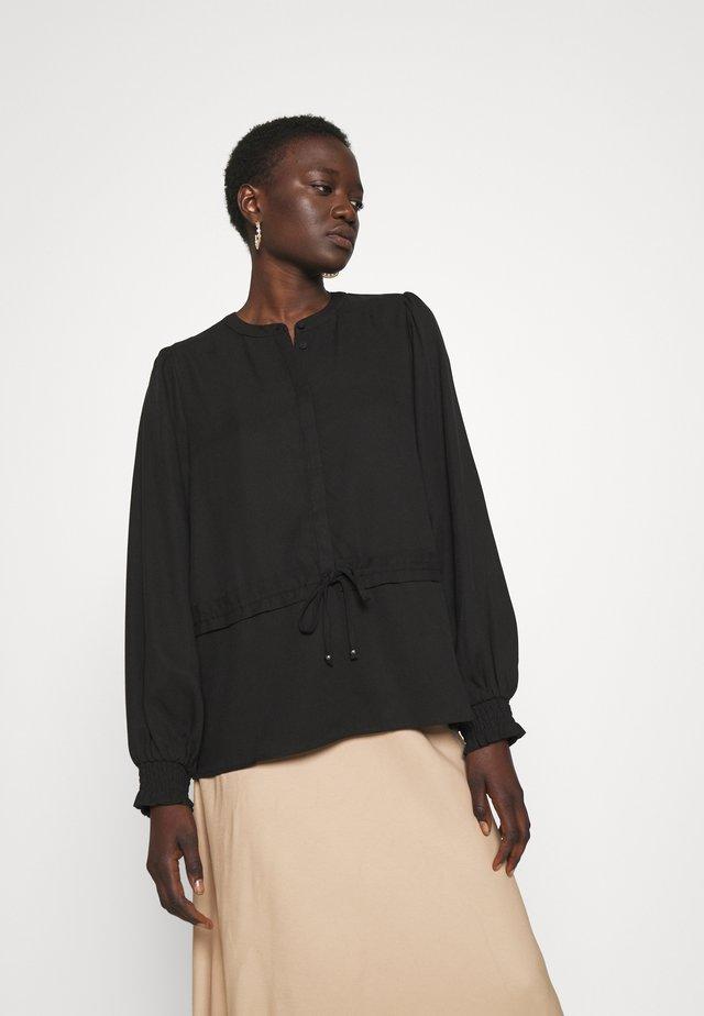 PRALENZA BARE SHIRT - Blouse - black