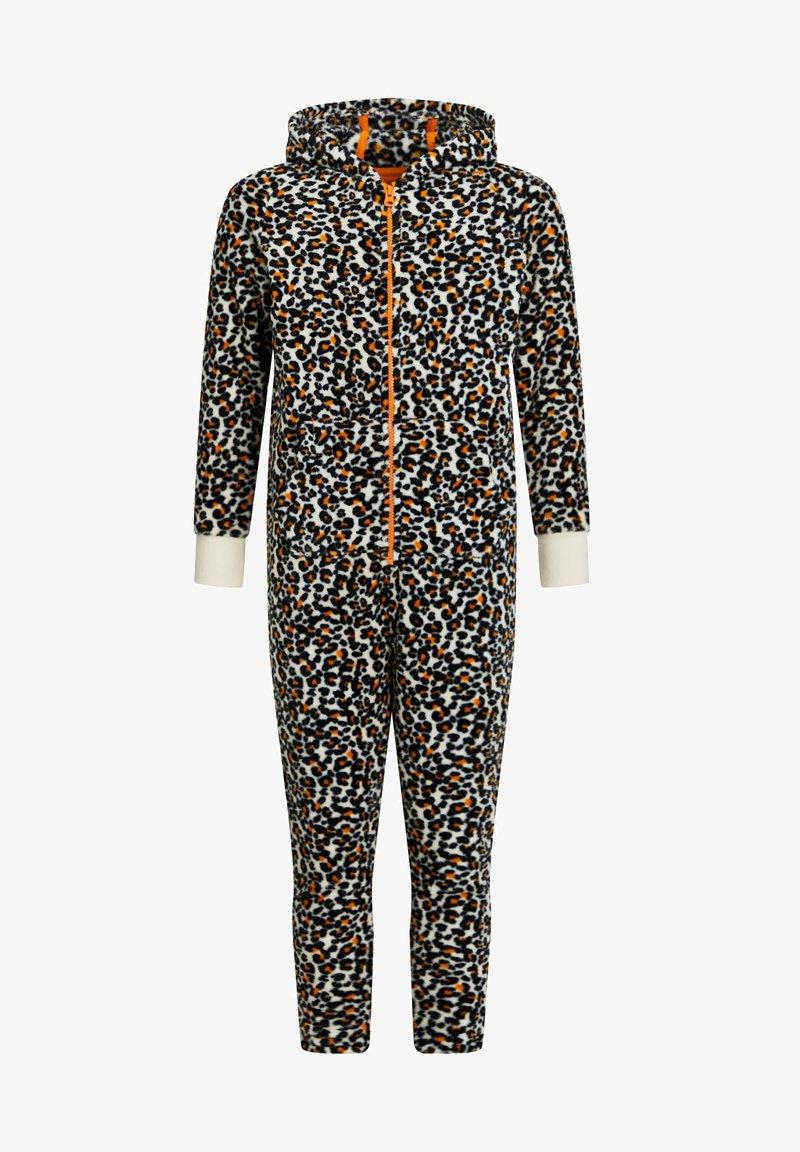 WE Fashion - MEISJES MET LUIPAARDDESIN - Zip-up hoodie - multi-coloured