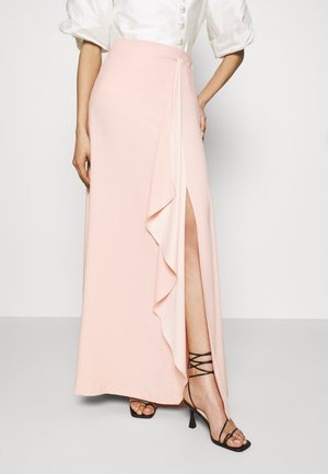 CASCADE LONG SKIRT - Maxi skirt - mellow blush