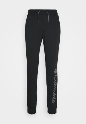 LOGO JOGGER - Pantalon de survêtement - black/city grey