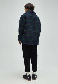 PULL&BEAR - Fleece jacket - dark blue - 2