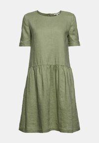 Esprit - DRESS - Day dress - light khaki - 10