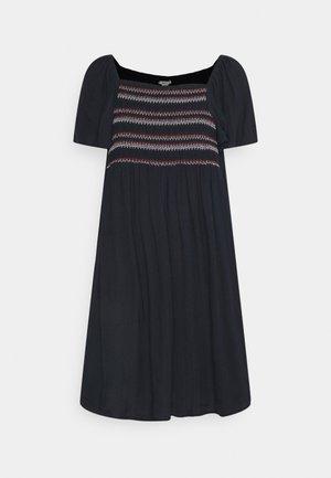 DRESS - Day dress - navy