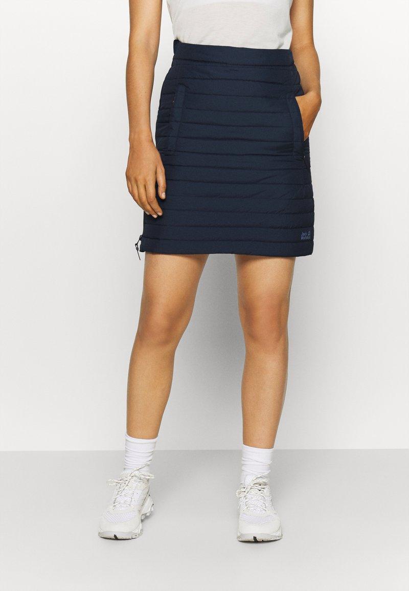 Jack Wolfskin - ICEGUARD SKIRT - Sports skirt - midnight blue