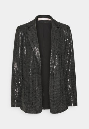 SEQUINS - Blazer - black