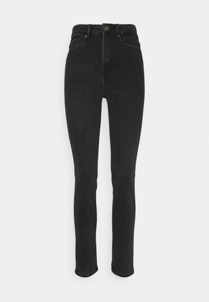 PCLILI - Slim fit jeans - black denim