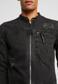 Be Edgy - BETRAVER - Denim jacket - black used - 5