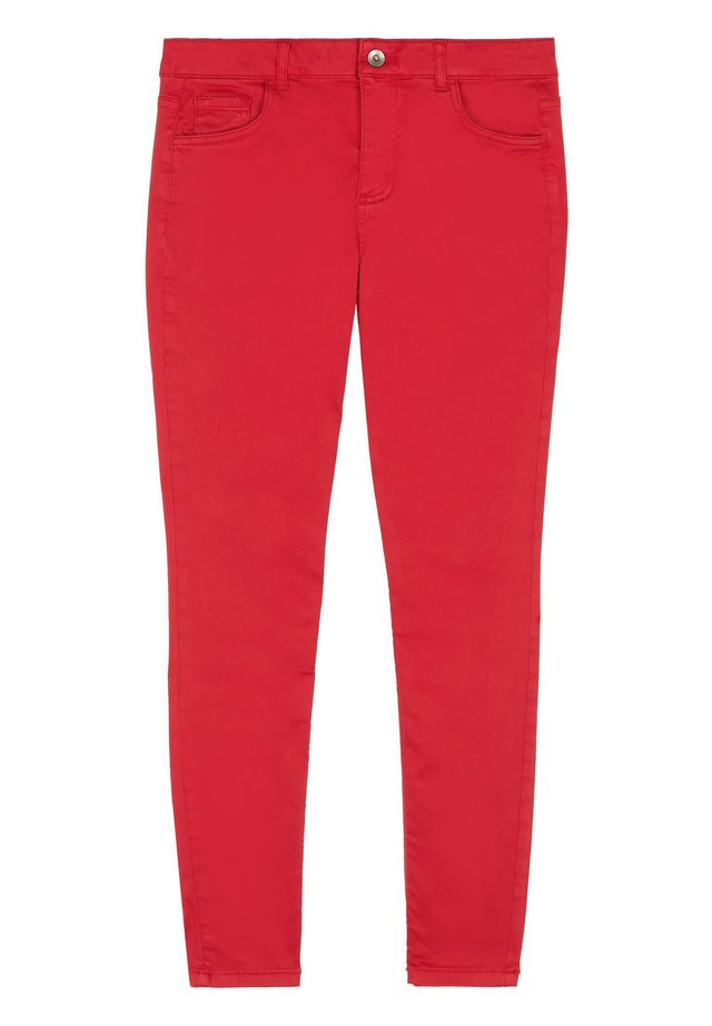 SEXY SLIM-FIT JEANS IN HELLER WASCHUNG - Jean slim - rosso