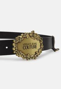 Versace Jeans Couture - CINTURA UNISEX - Riem - nero/oro - 2