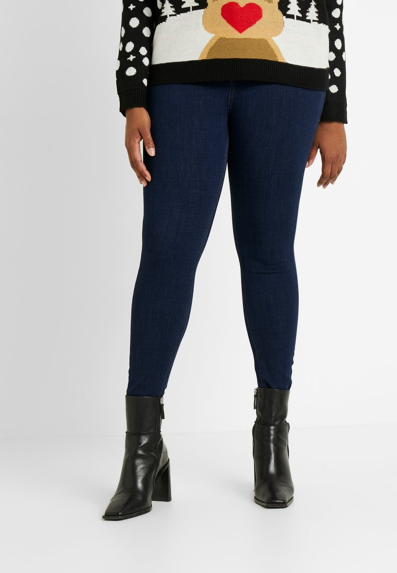 Simply Be - WAY REGULAR - Jeans Skinny Fit - rich indigo
