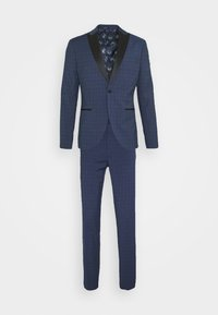 Isaac Dewhirst - CHECK TUX - Suit - dark blue - 8