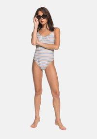 Quiksilver - Swimsuit - blue yonder multico stripes - 1